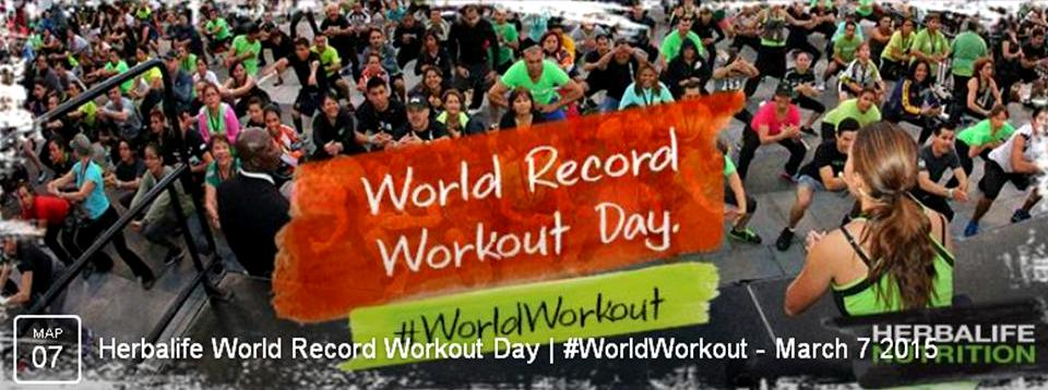 worldrecord workout Herbalife