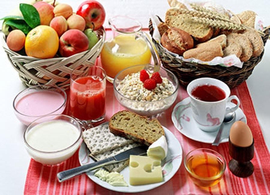 Τρώτε πρωινό;